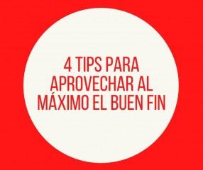 4 tips para aprovechar al máximo el buen fin
