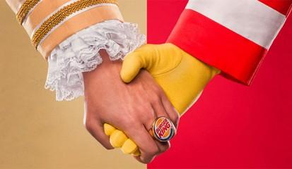 Burger King invita a consumir en McDonald´s como apoyo ante la pandemia